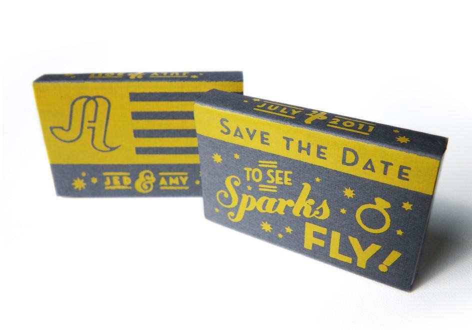 Amy-Jed-Wedding-Mercury-Hall-July-4-Austin-Texas-Logo-Identity-Branding-Invitations-Stationery-Poster-Matchbox-Save-The-Date-RSVP