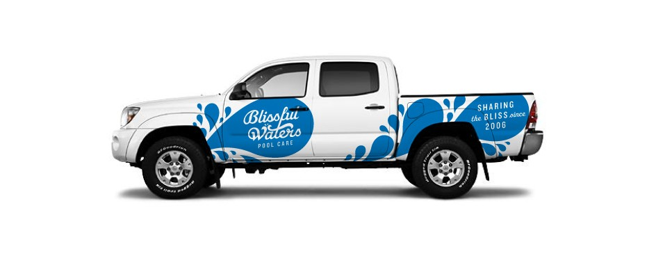 Blissful Waters Pool Care Tacoma Wrap