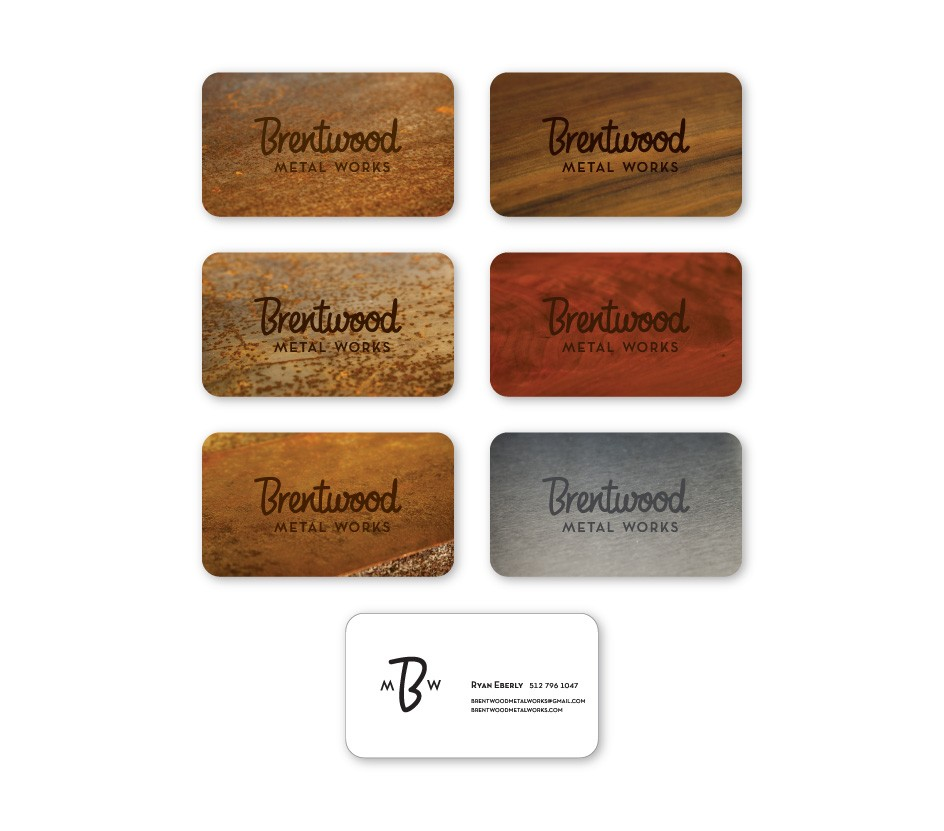 Brentwood Metal Works Business Cards