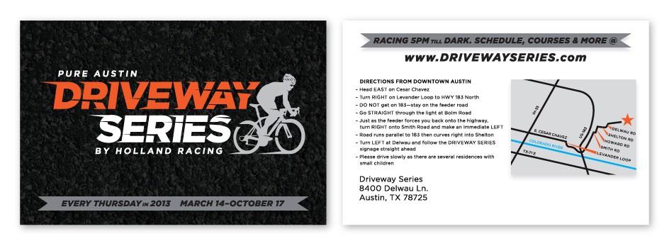 Driveway Series Postcard Mailer