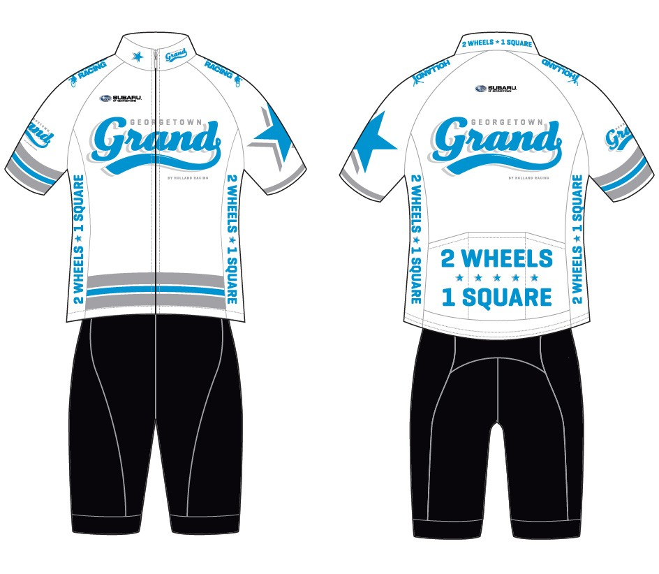 Georgetown Grand Website Logo Brand Identity Festival Expo Race Production Cycling Jersey