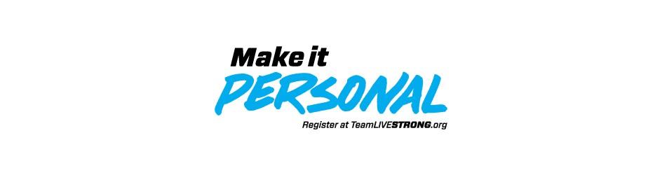 Team Livestrong Make It Personal Logo