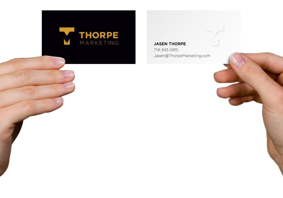 Thorpe Marketing Business Card