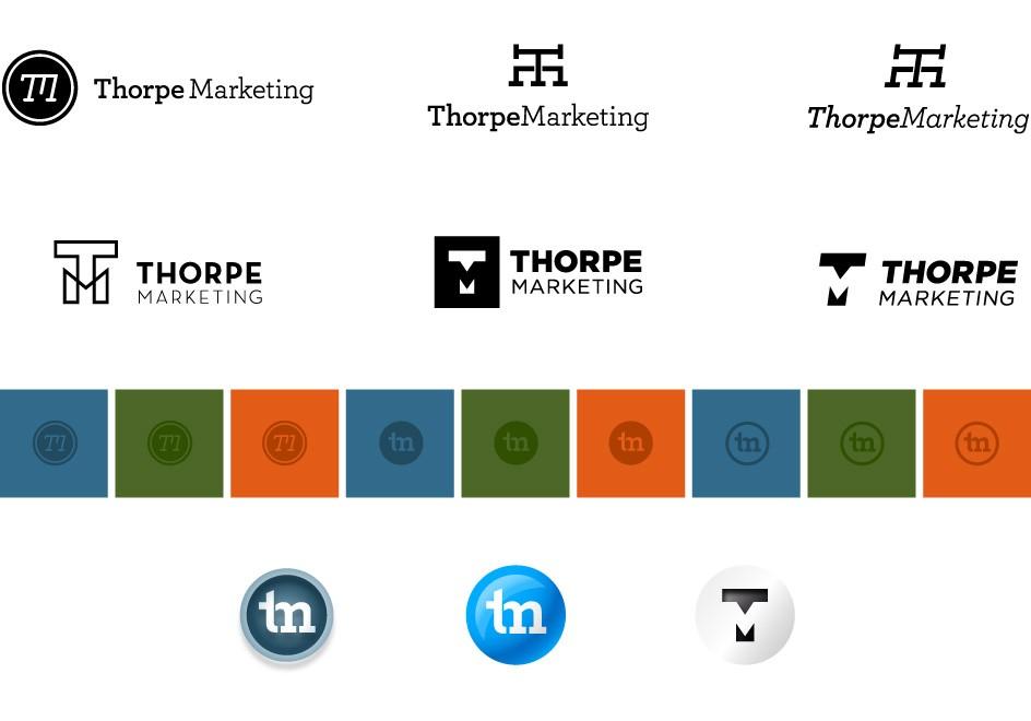 Thorpe Marketing Logo Concepts