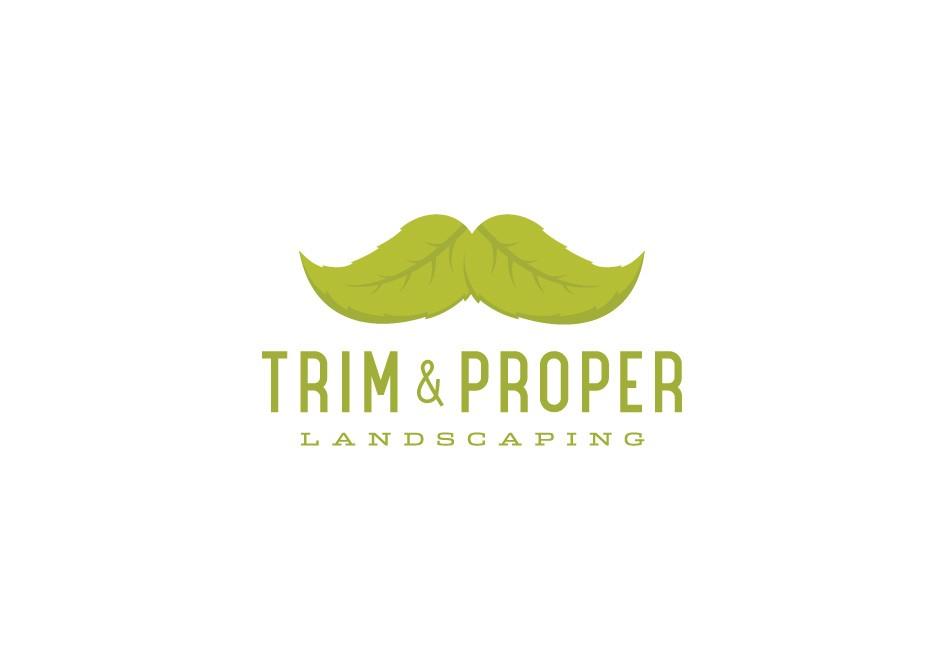 Trim & Proper Landscaping Logo