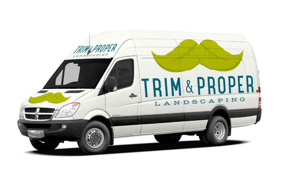 Trim & Proper Landscaping Vehicle Wrap