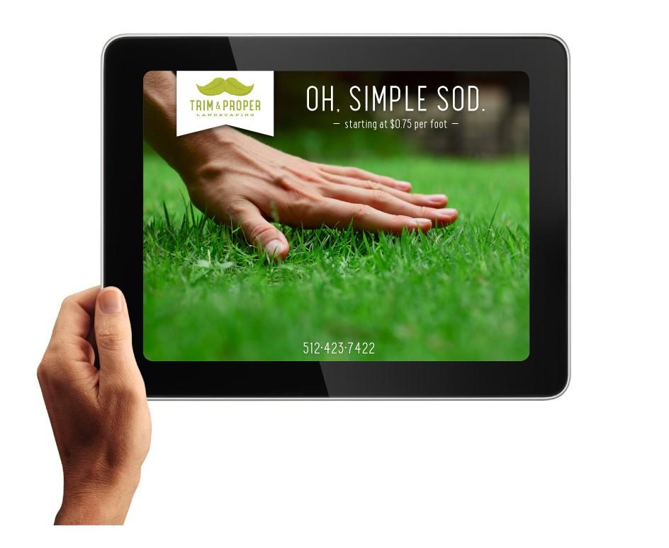 Trim & Proper Landscaping Website